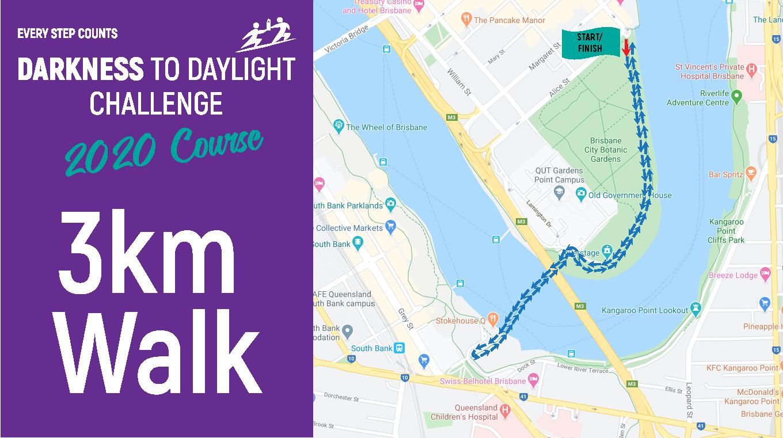 3km Walk Map