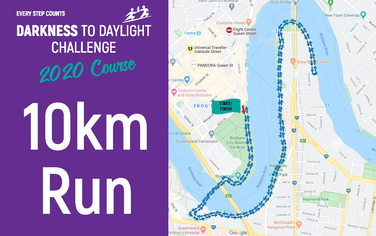 10km Run Map